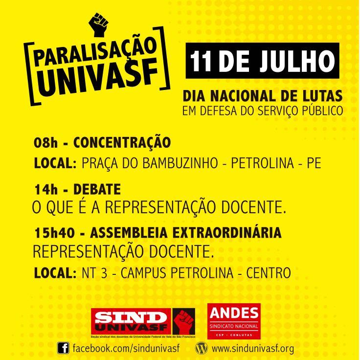 facebook - PROGRAMAÇÃO paralisação univasf 11 julho-03