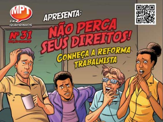 Reforma Trabalhista em Quadrinhos - HQ MPT