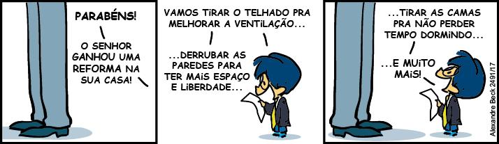 Haikai n. 04 Armandinho - reformas
