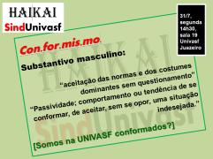 SINDUNIVASF HAI KAI n. 10 Conformismo