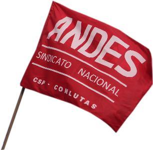 andes csp Conlutas bandeira