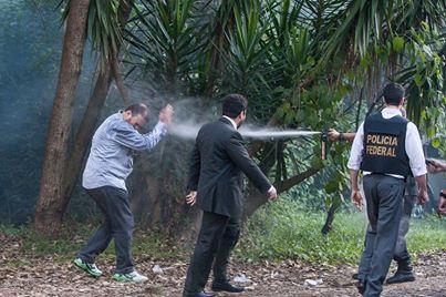 Andes brutalidade policial UFSC 2014