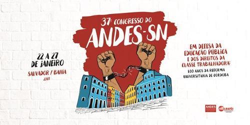 Cartaz Congresso Andes SSA 2018
